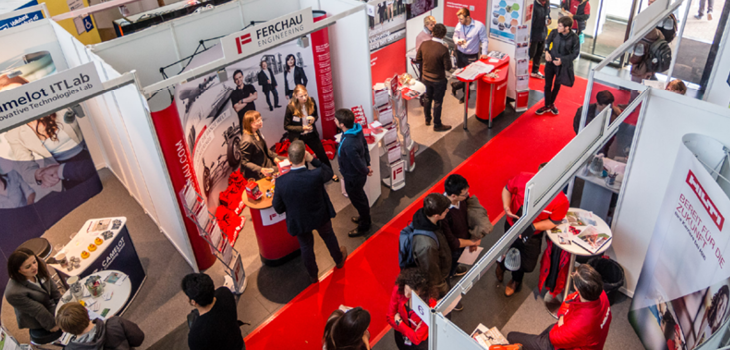 The FIRMENKONTAKTMESSE (career fair) 28th - 29th. Oct. 2020